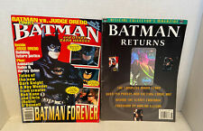 New Listing1995 Batman And Other Dark Heros Magazine By Comic Scene & Batman Returns
