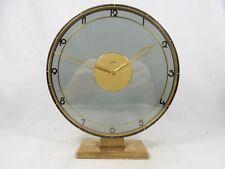 Beautiful JUNGHANS Art Déco Design Tischuhr desk clock    vom Uhrmacher überholt