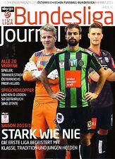 2015 2016 Austria Bundesliga Journal Austrian Football Season Preview Magazine
