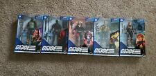 Lot Of 5 GI JOE Classified Series Roadblock Duke DESTRO Scarlet & Snake Eyes