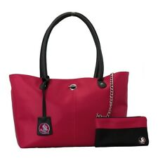 Florida State Seminoles FSU The Pamela Handbag with Aztec Necklace and Earrings