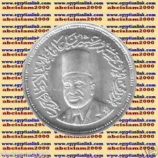 "1993 Egypt Egipto مصر Ägypten Silver Coins ""Birth of Talaat Harb"", 5 P,KM#837"