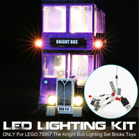 USB LED Light Kit Fit For LEGO 75957 The Knight Bus Lighting Set Bricks Toys  ˜.