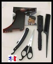 Barbe Kit   de coiffure  5 pcs peigne - ciseaux + peigne + rasoir , coupe chou