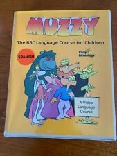 Muzzy The Bbc Language Course for Children Vhs Cd Spanish No Cassette