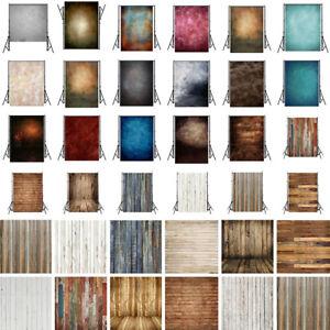Studio Photography Backdrop Plank Tie-Dye Photo Background Retro 5x7/3x5/3x3ft