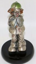 MIDA, Italy ARGENTI, Hand Painted, Sterling Silver Clown