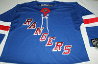 NHL Authentic Blue New York Rangers Stitched Jersey Youth Kid Size Large/X-Large
