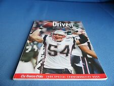 Driven : The Patriots' Ride to a Third Title by Boston Globe Staff (2005, Pbk)