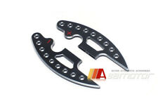 Extended DCT Black Shifter Paddles Machined Holes Set for BMW E9x M3 E7x X5M X6M