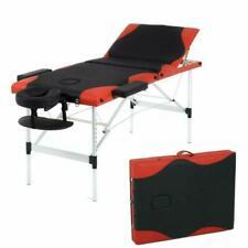 Massage Table Massage Bed Spa Bed 84 Inch Height Adjustable 3 Fold Aluminium Mas