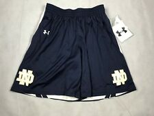 UNDER ARMOUR WOMENS SMALL DROP STEP NOTRE DAME REVERSIBLE NAVY WHITE NWT B9