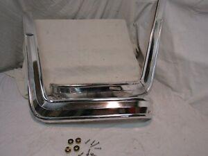 1966 1967 DODGE CORONET 500 PLYMOUTH SATELLITE B-BODY BENCH SEAT TRIM w/ HRDWARE