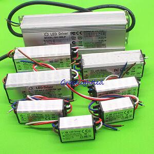 High Power Supply LED Driver 3W 10w 20w 30w 50w 100w 150W 200W For light chip
