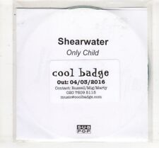 (HM75) Shearwater, Only Child - 2016 DJ CD