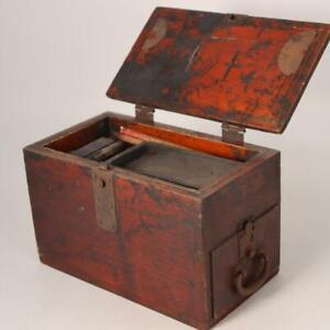 Japanese Antique wooden Tansu box Funa dansu WBX75