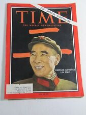 Time Magazine- September 9, 1966- Defense Minister Lin Piao