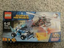 LEGO 76098 DC Super Heroes Speed Force Freeze Pursuit BNIB Complete. New in box.