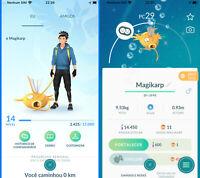 Pokemon Go Starter Account - with Shiny Magikarp !!  Read the Description !!