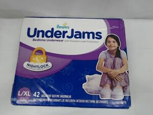 Pampers Under Jams, Absorbent Underwear, Size L/XL (58-85 lb), 42 Count