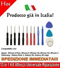 13 in 1 Kit Attrezzi Universale Riparazione Apertura Smontaggio Cellulari