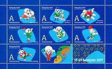 Turkmenistan 2017, Asian Games, Sports, Football, Tennis, sheetlet