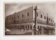 Venezia Palazzo Ducale [507] Italy 1934 RP Postcard Brocca 249b