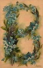 "Vintage Victorian Klein Floral Letter Initial ""B""  2"" x 3"" Fridge Magnet"
