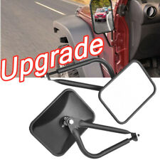 """2nd Generation 8.5"""" Side View Door Mirrors For Jeep Wrangler JK YJ TJ 07-2018"""