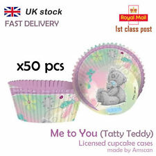 Me to you Tatty Teddy 50 Cupcake Cases Party Supplies Accessory Baking Birthday