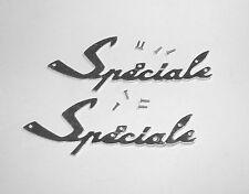 2 Sigles logos insignes monogrammes Mobylette Motobecane Spéciale
