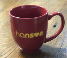 Hanson Official Red Mug Brand New