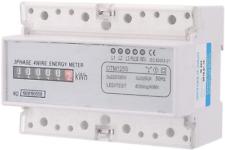 220/380V 20-80A Medidor de electricidad digital de consumo de energía, 3-fase de kWh