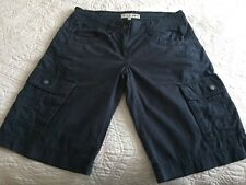 Fat face Navy Blue Cargo Shorts Size 10 VGC
