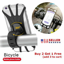 360° Bicycle Motorcycle Mtb Bike Handlebar Mount Holder Stand for Cell Phone Gps