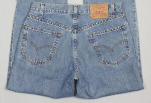 Vintage Levi's Strauss & Co Hommes 550 Coupe Décontracté Rouge Étiquette Jeans