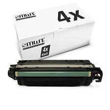 4x MWT Patrone SCHWARZ für HP Color LaserJet Pro MFP M-176-n MFP M-177-fw