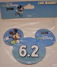 NEW 2018 Run Disney Marathon 6.2 Miles Mickey Magnet