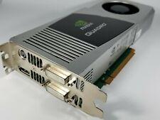 Dell NVIDIA Quadro FX 5800 4GB GDDR3 PCIe Dual Display Windows 10 Video Card