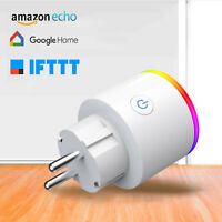 Enchufe Inteligente RGB Control Remoto Inalámbrico Wifi para Amazon Alexa/Google