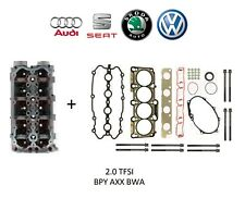 AUDI SEAT SKODA VW 2.0 TFSI NEW BARE CYLINDER HEAD WITH GASKET KIT BPY AXX BWA