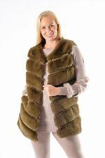 Women Faux Fur Gilet Sleeveless Jacket Coat Warmer Body Waistcoat Outwear Ves