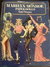 Marilyn Monroe Paper Dolls By Tom Tierney