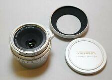 Minolta G Rokkor 28mm F3.5 28/3.5 Lens Leica L39 Screw Mount