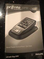 Pronto Next Generation TSU 3000 Home Theater Control Panel User Guide Philips