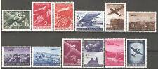 Bulgaria 1940 Mi# 377-388 Air mail, Aircraft, Plane set MNH** OG VF