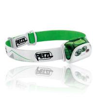 Petzl Unisex Actik Headlamp - Green White Sports Outdoors Lightweight