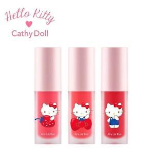 [CATHY DOLL x HELLO KITTY] Airy Lip Blur Matte Lip Stain 4g NEW