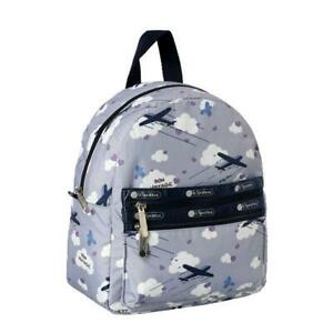 LeSportsac Classic Collection Small Double Zip Backpack in Send Off Lavender NWT
