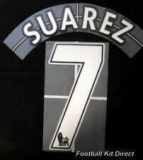 Liverpool Suarez 7 Lextra Football Shirt Name/Number Set Home Sencilia